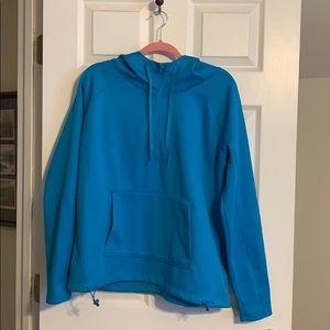 Athleta half zip hoodie